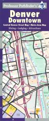 Buy map Denver, Colorado, Downtown by Hedberg Maps from Colorado Maps Store