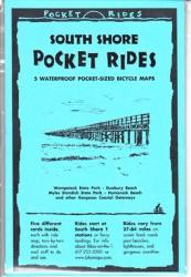 Buy map Massachusetts, South Shore, Lam Bike Map Cards by Rubel BikeMaps
