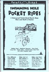 Buy map Boston, West/North, Swimming Holes, Lam Biking Map Cards by Rubel BikeMaps from Massachusetts Maps Store