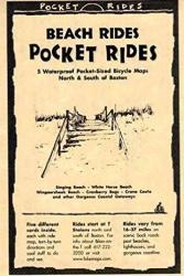 Buy map Boston, Massachusetts Beach Rides, Lam Map Cards by Rubel BikeMaps