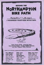 Buy map Beyond the Northampton Bike Path, Lam Biking Map Cards by Rubel BikeMaps