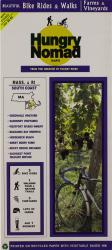 Buy map Massachusetts and Rhode Island, South Coast, Farm and Vineyards by Rubel BikeMaps from United States Maps Store
