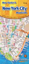 Buy map New Yorkers New York City Map Guide by Opus Publishing