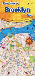 Buy map New Yorkers Brooklyn Map by Opus Publishing from New York Maps Store