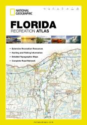 Buy map Florida Recreation Atlas by National Geographic Maps from Florida Maps Store