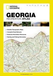 Buy map Georgia Recreation Atlas by National Geographic Maps from Georgia Maps Store