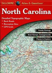 Buy map North Carolina, Atlas and Gazetteer by DeLorme from North Carolina Maps Store