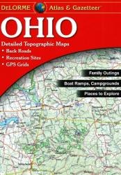 Buy map Ohio, Atlas and Gazetteer by DeLorme from Ohio Maps Store
