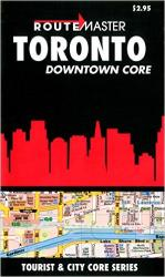 Buy map Toronto Downtown, Quick Fold by Route Master from Ontario Maps Store
