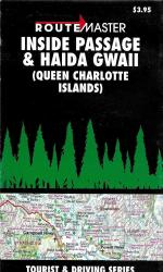 Buy map Inside Passage and Haida Gwaii (Queen Charlotte Islands) by Route Master from British Columbia Maps Store