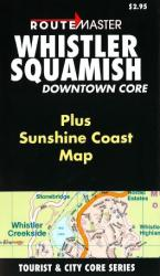 Buy map Whistler and Squamish, British Columbia by Route Master