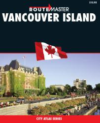 Buy map Vancouver Island, British Columbia Guide by Route Master