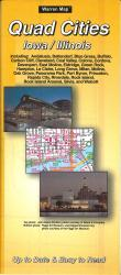 Buy map Quad Cities, Iowa by The Seeger Map Company Inc. from North Dakota Maps Store