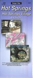 Buy map Hot Springs and Hot Springs Village, Arkansas by The Seeger Map Company Inc. from Arkansas Maps Store