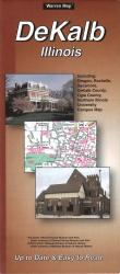 Buy map DeKalb, Illinois by The Seeger Map Company Inc. from Illinois Maps Store