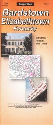 Buy map Bardstown and Elizabethtown, Kentucky by The Seeger Map Company Inc.