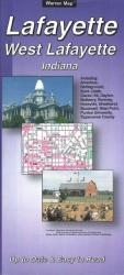 Buy map Lafayette and West Lafayette, Indiana by The Seeger Map Company Inc. from Indiana Maps Store