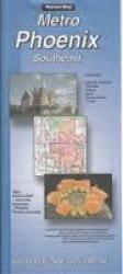 Buy map Phoenix, Arizona Metro, Southeast by The Seeger Map Company Inc. from Arizona Maps Store