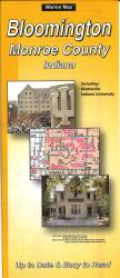 Buy map Bloomington and Monroe County, Indiana by The Seeger Map Company Inc.