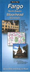 Buy map Fargo, North Dakota and Moorhead, Minnesota by The Seeger Map Company Inc. from United States Maps Store