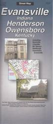 Buy map Evansville, Indiana and Henderson and Owensboro, Kentucky by The Seeger Map Company Inc. from Indiana Maps Store