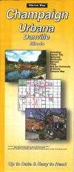 Buy map Champaign, Urbana and Danville, Illinois by The Seeger Map Company Inc. from Illinois Maps Store