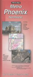 Buy map Phoenix, Arizona Metro, Northwest by The Seeger Map Company Inc.
