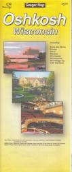 Buy map Oshkosh, Wisconsin by The Seeger Map Company Inc. from Wisconsin Maps Store