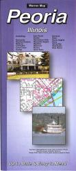 Buy map Peoria, Illinois by The Seeger Map Company Inc. from Wisconsin Maps Store
