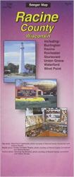 Buy map Racine County, Wisconsin by The Seeger Map Company Inc. from Wisconsin Maps Store