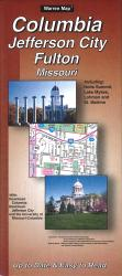 Buy map Columbia, Jefferson City and Fulton, Missouri by The Seeger Map Company Inc. from Missouri Maps Store