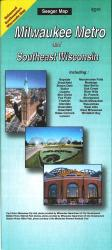 Buy map Milwaukee, Wisconsin Metro and Southeast Wisconsin by The Seeger Map Company Inc. from Wisconsin Maps Store