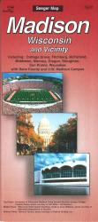Buy map Madison, Wisconsin and vicinity by The Seeger Map Company Inc. from Wisconsin Maps Store