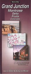 Buy map Grand Junction, Montrose, Delta and Fruita, Colorado by The Seeger Map Company Inc. from Colorado Maps Store