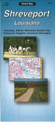Buy map Shreveport, Louisiana by The Seeger Map Company Inc. from Louisiana Maps Store