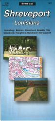 Buy map Shreveport, Louisiana by The Seeger Map Company Inc. from Louisiana Maps Store