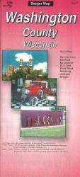 Buy map Washington County, Wisconsin by The Seeger Map Company Inc. from Wisconsin Maps Store