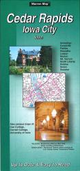 Buy map Cedar Rapids and Iowa City, Iowa by The Seeger Map Company Inc. from Iowa Maps Store