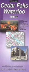 Buy map Cedar Falls and Waterloo, Iowa by The Seeger Map Company Inc. from Iowa Maps Store