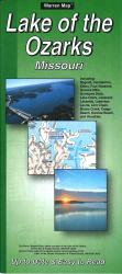 Buy map Lake of the Ozarks, Missouri by The Seeger Map Company Inc. from Missouri Maps Store