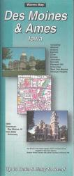 Buy map Des Moines, Iowa by The Seeger Map Company Inc. in Iowa Map Store
