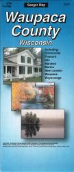 Buy map Waupaca County, Wisconsin by The Seeger Map Company Inc. from Wisconsin Maps Store