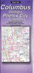 Buy map Columbus, Georgia and Phenix City, Alabama by The Seeger Map Company Inc. from Alabama Maps Store