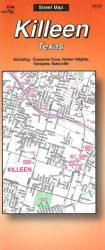 Buy map Killeen, Texas by The Seeger Map Company Inc. from Texas Maps Store
