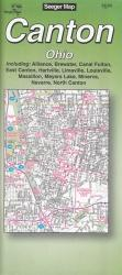 Buy map Canton, Ohio by The Seeger Map Company Inc. from Ohio Maps Store