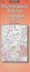 Buy map Murfreesboro, Smyrna, and La Vergne, Tennessee by The Seeger Map Company Inc. from Tennessee Maps Store