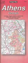 Buy map Athens, Georgia by The Seeger Map Company Inc. from Georgia Maps Store