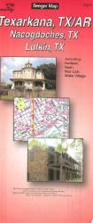 Buy map Texarkana, Texas and Arkansas by The Seeger Map Company Inc. from United States Maps Store