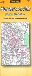Buy map Hendersonville, North Carolina by The Seeger Map Company Inc. in North Carolina Map Store