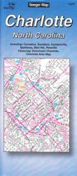 Buy map Charlotte, North Carolina by The Seeger Map Company Inc.